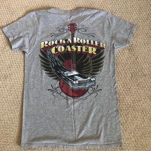 Disney Rockin Rollercoaster tee